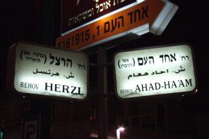 בין צרת היהודים לצרת היהדות. הרצל ואחד העם על פרשת דרכים
