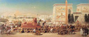 'ישראל במצרים', ציור מאת אדוארד פוינטר (1867)